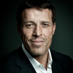 <strong>Tony Robbins</strong><br/>World renowned author, entrepreneur, philanthropist & life coach