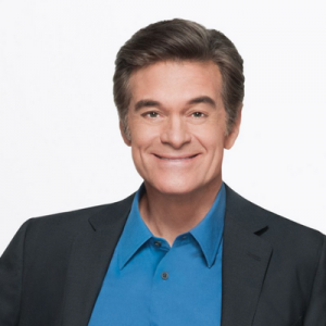 <strong>Dr. Mehmet Oz</strong><br/>Host of The Dr. Oz Show