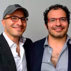 <strong>Ali and Hadi Partovi</strong><br/>Founders of Code.org<br/>Original investors in Facebook & Dropbox