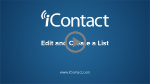 Edit and Create a List