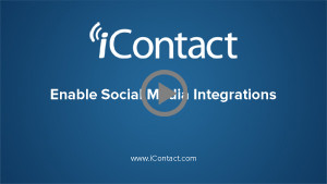 Enable Social Media Integrations