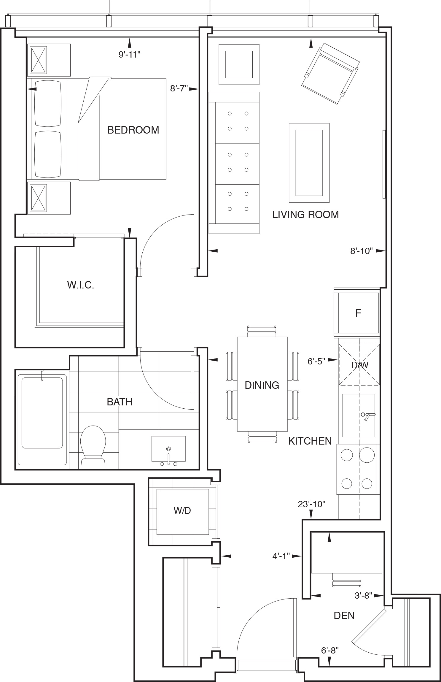 Floorplan for SKY Residence G