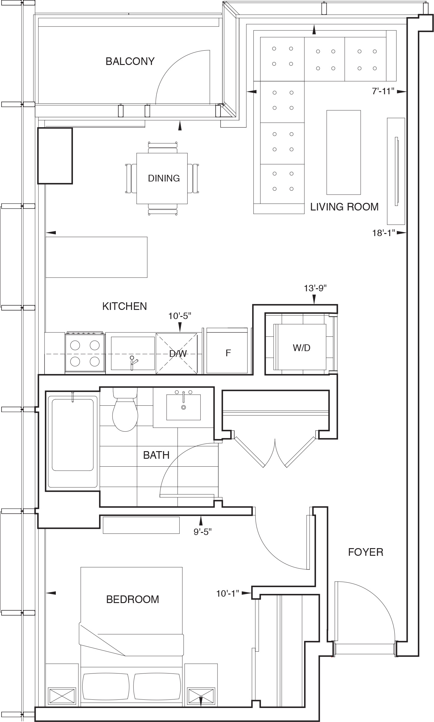 Floorplan for SKY Residence B