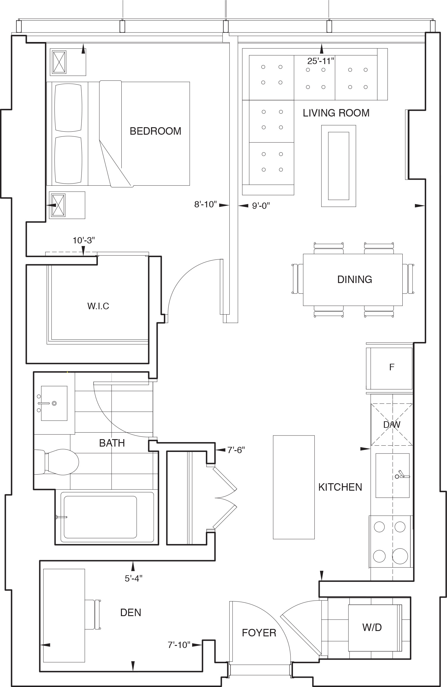 Floorplan for SKY Residence C