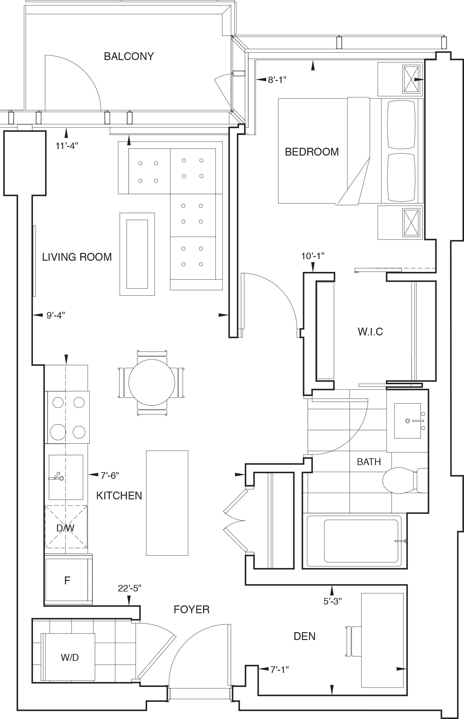 Floorplan for SKY Residence C1