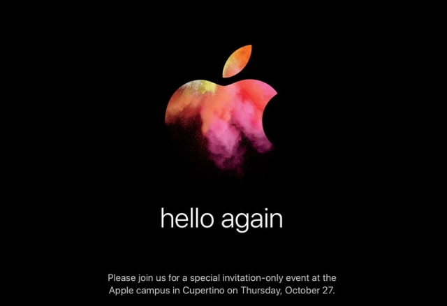 Live Blog of Apple's October 2016 'Hello Again' Mac Event