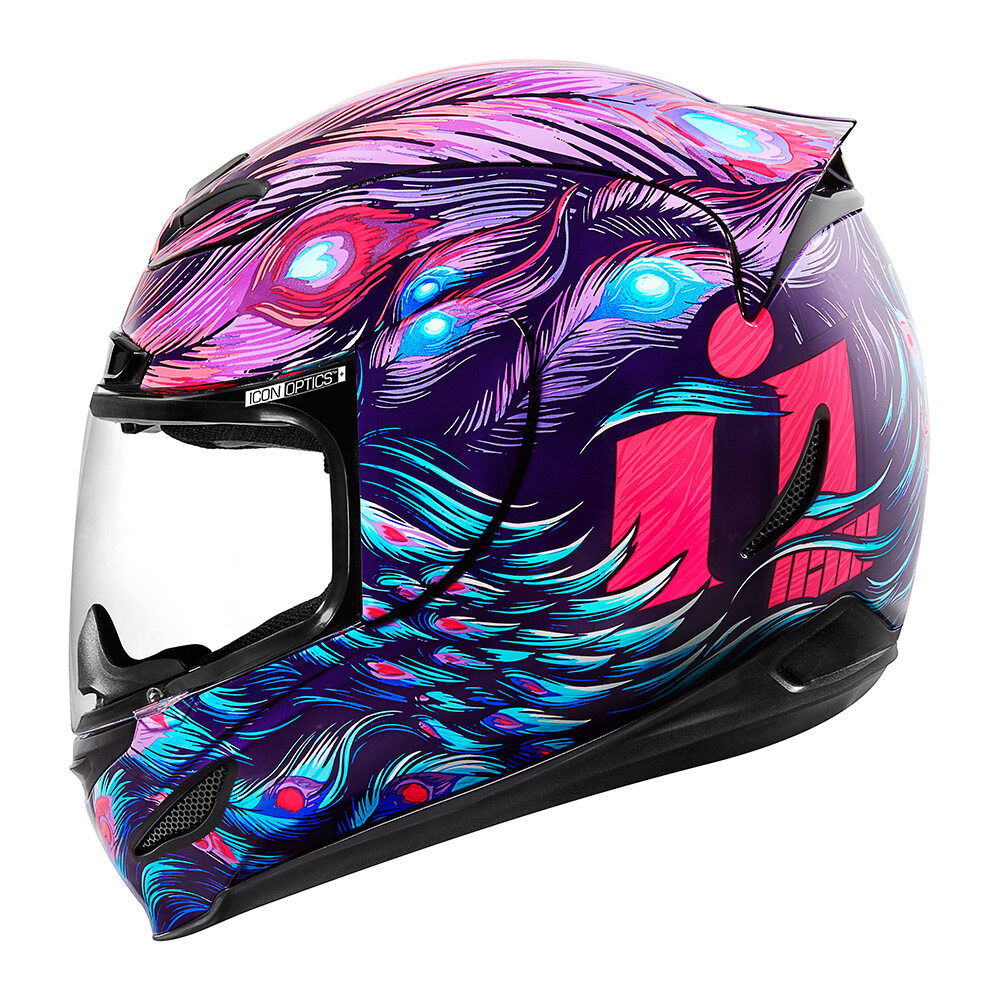 Opacity Purple Helmets Icon Motosports Ride Among Us