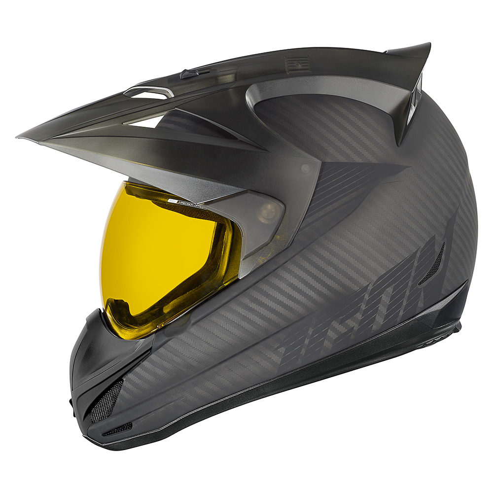 ICON Variant DEPLOYED Full-Face Crossover Helmet (Black) L ...