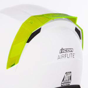 Airflite™ Rear Spoilers - Dayglo Green