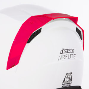 Airflite™ Rear Spoilers - Dayglo Red