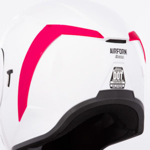 Airform™ Rear Spoilers - Dayglo Red