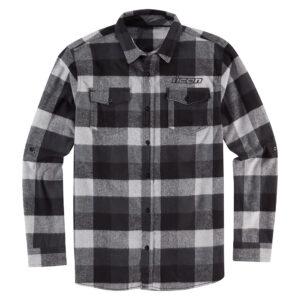 Feller Flannel - Black/Grey