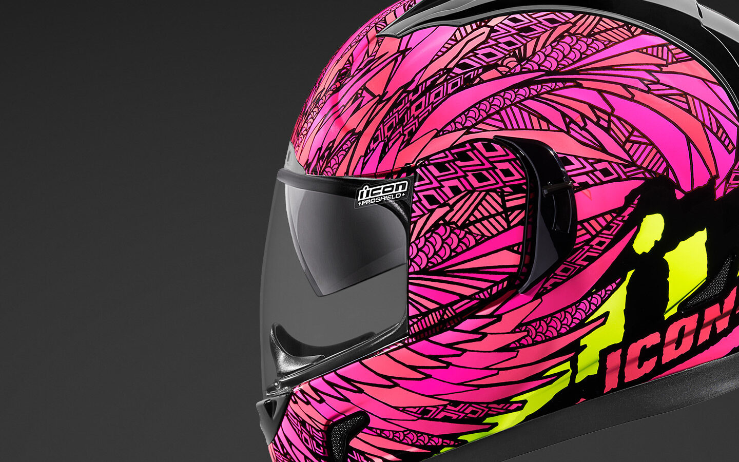 Bird Strike - Pink | Helmets | Icon Motosports - Ride Among Us