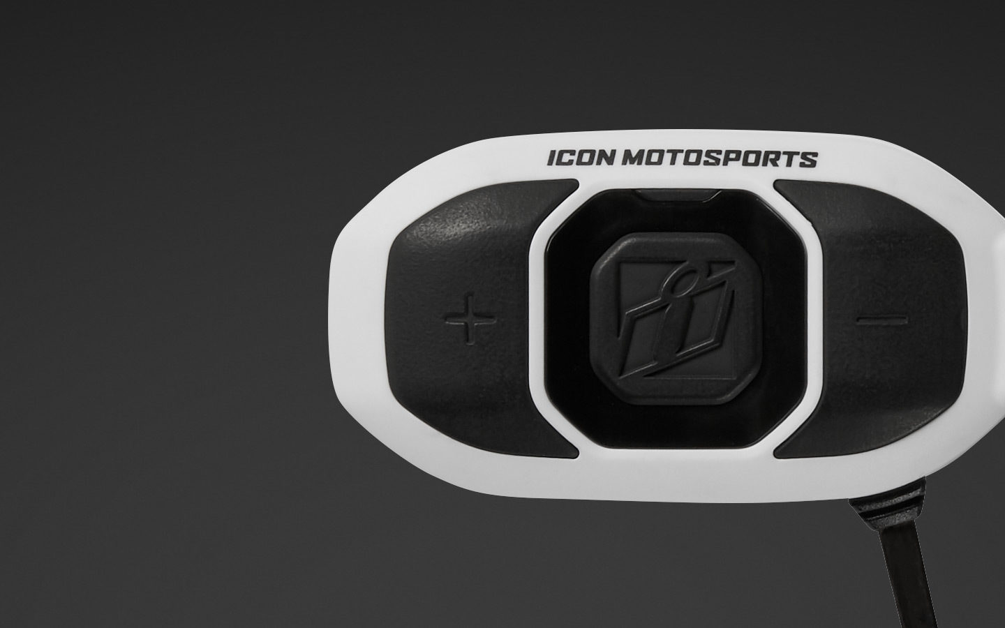 RAU Communicator - White | Helmets | Icon Motosports - Ride