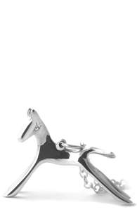 I Dream I Can Fly Silver Horse Necklace - Polished