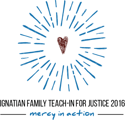 Logo: Ignatian Family Teach-In For Justice 2016