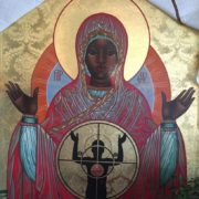 Our Lady Mother of Ferguson and All Those Killed by Gun Violence