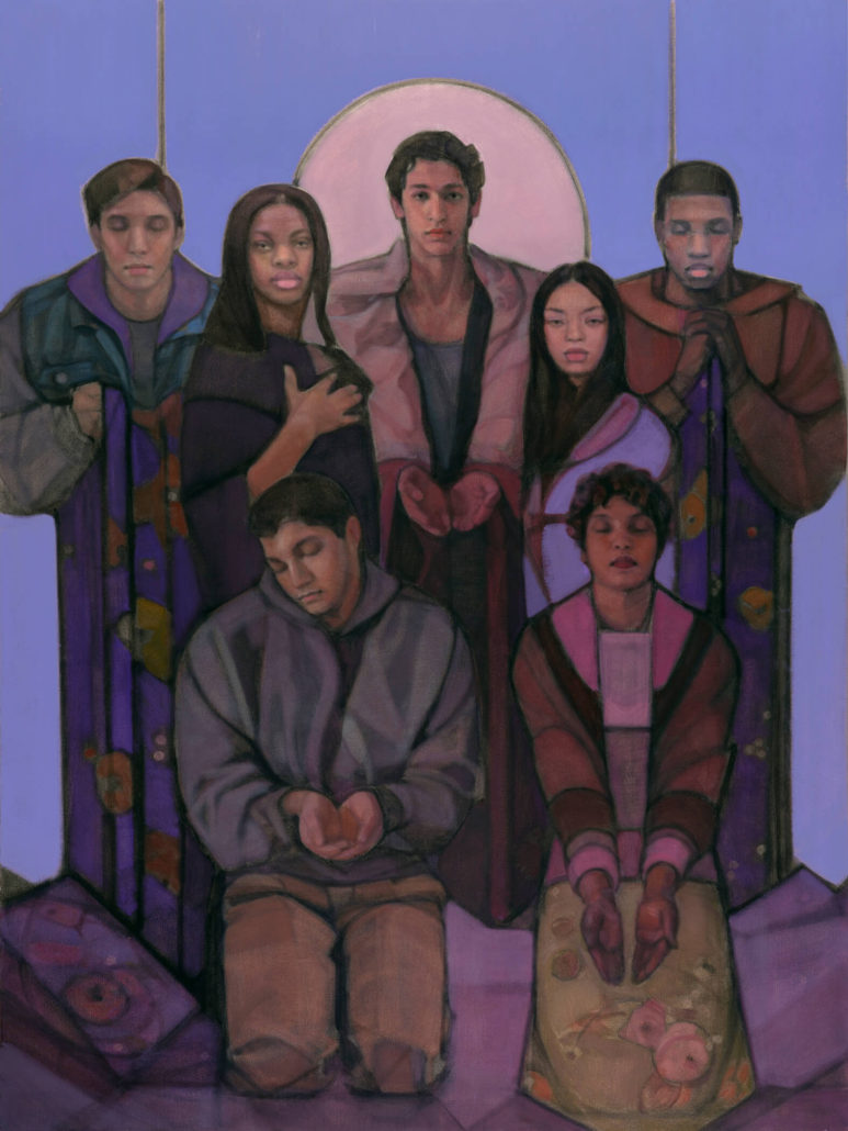Jesus of Arrupe College by Janet McKenzie (1)