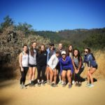 "The Presentation High School lacrosse team completed the ""take a hike"" challenge"