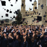St. Ignatius College Prep graduates on commencement day. [St. Ignatius College Prep]