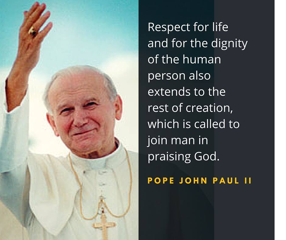 Pope John Paul Ii Ignatian Solidarity Network