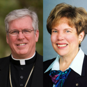 Bishop Frank J. Dewane and Sister Donna Markham, OP, Ph.D.