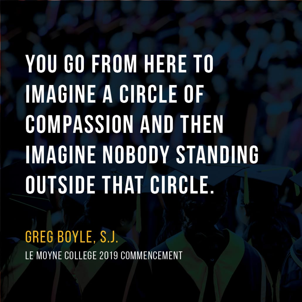 Boyle-Commencement Quotes 2019