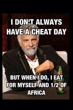 IIFYM Cheat meal macros