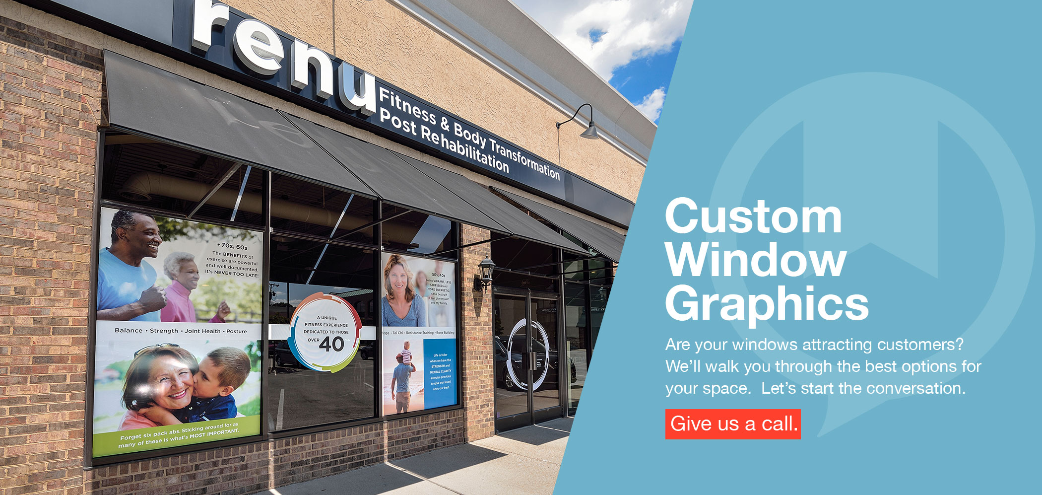 Custom Window Graphics Nashville, TN
