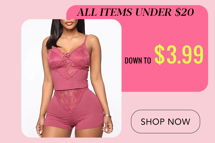 All Items Under $20 Down To $3.99