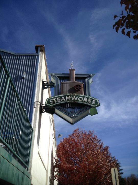 Steamworks Brewing Company restaurant