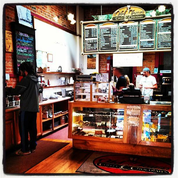 Old Town Coffee & Chocolates restaurant