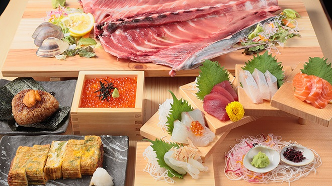 三重の海鮮市場 豊和丸