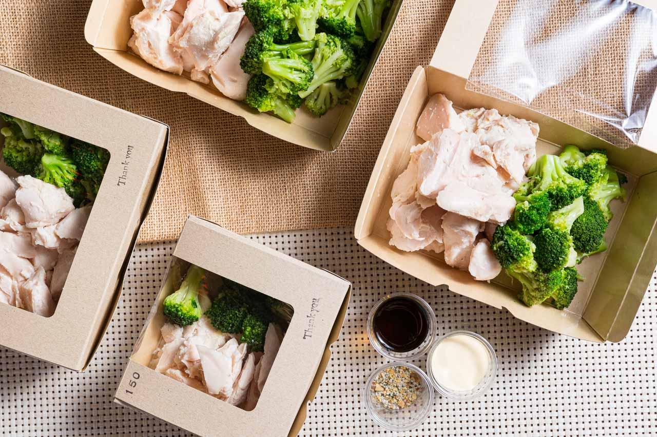 究極のブロッコリーと鶏胸肉 新宿店