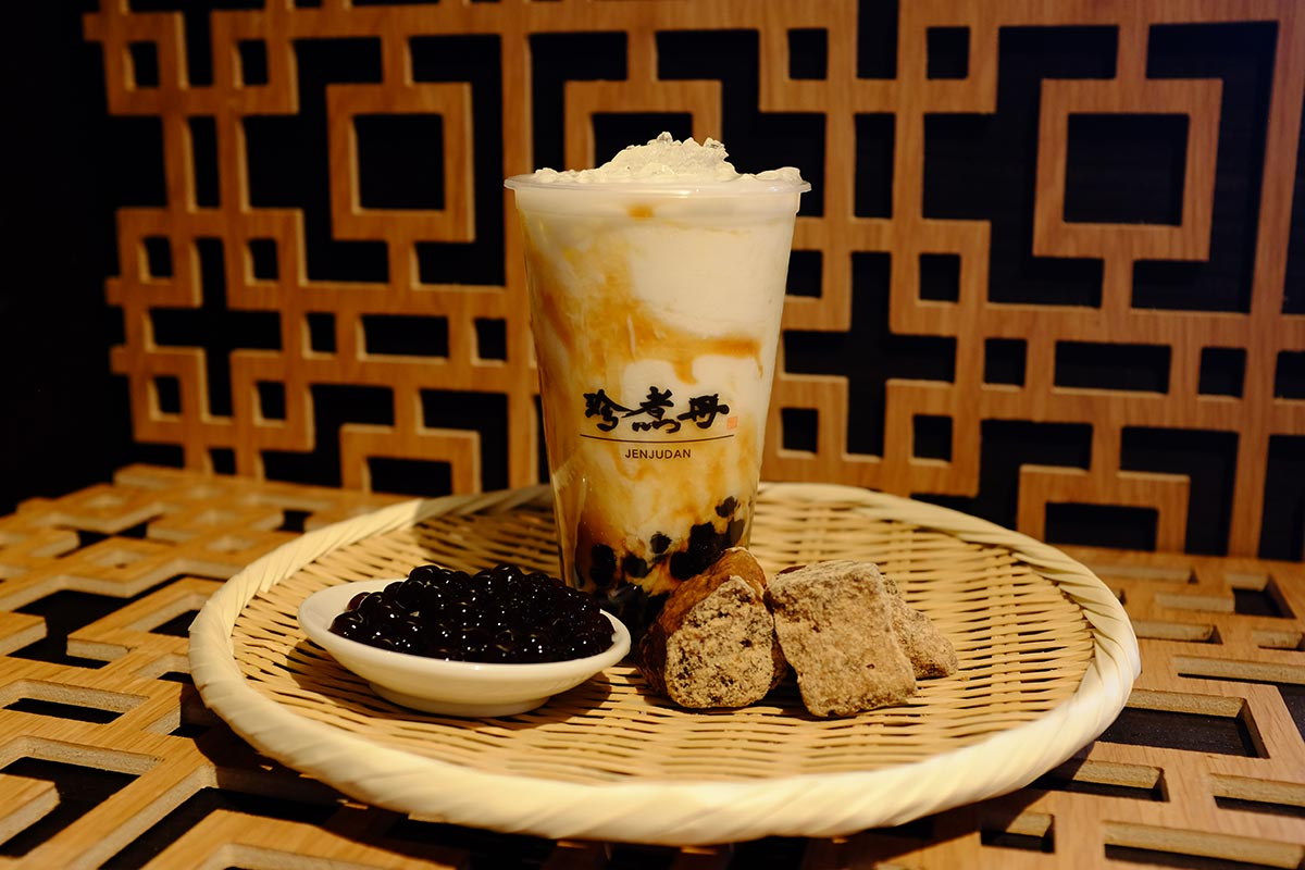 台湾No.1黒糖タピオカミルク 珍煮丹
