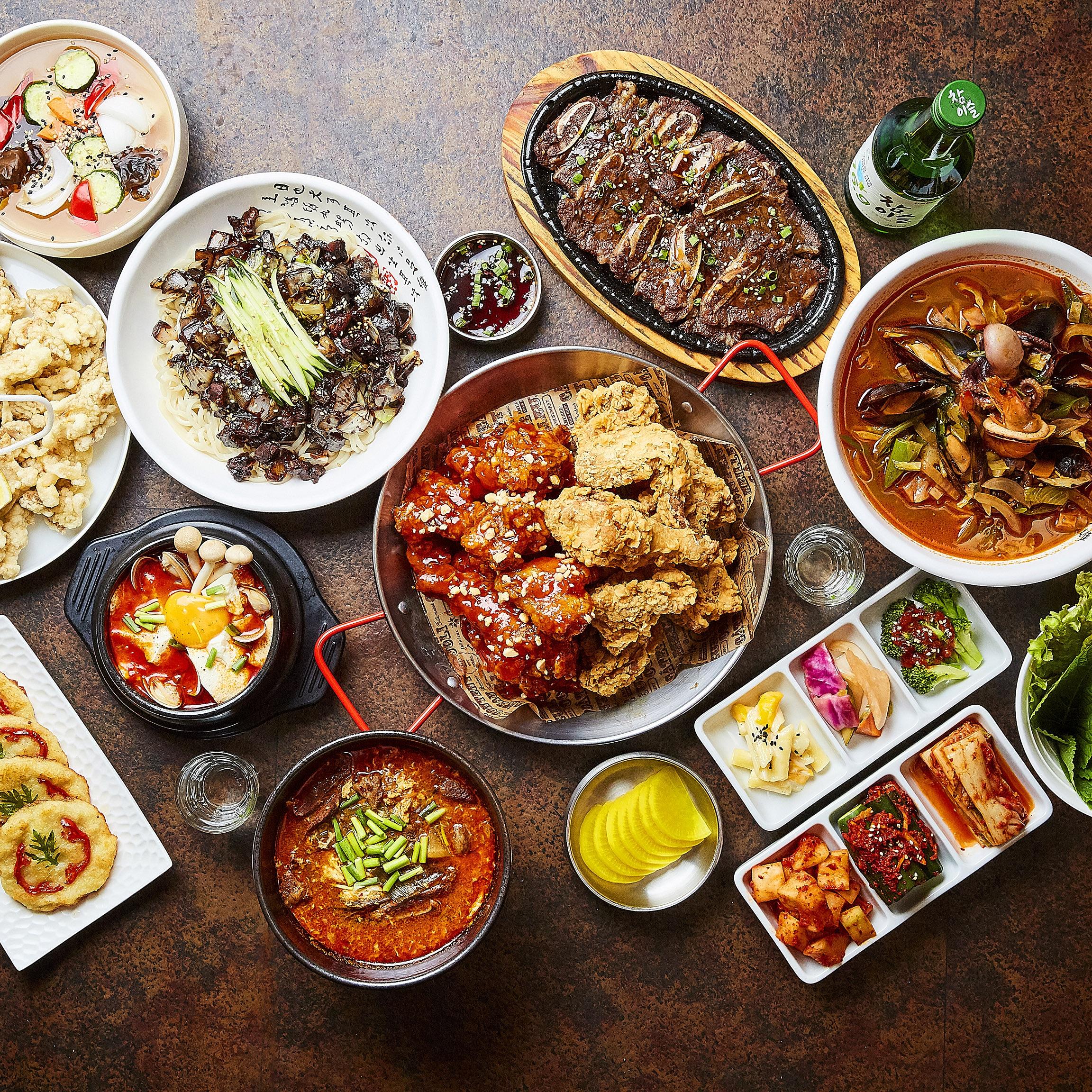 焼肉韓国料理 東大門