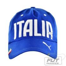 Bone Puma Italia Graphic Cap Azul 0c9466429f3