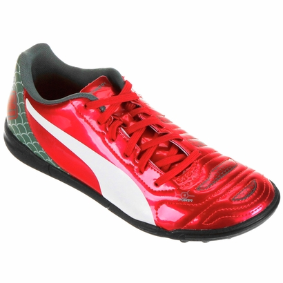 3d5f73f874dd4 Chuteira Puma Evopower 4.2 Graphic TT Society Juvenil - Outlet Futebol