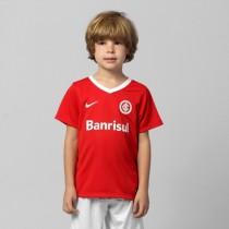 6bf7cd1a57b88 Camisa Nike Internacional I 14 15 sem numero Infantil