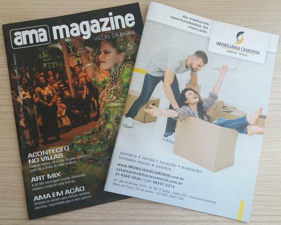 c629804f3 Estamos na AMA Magazine - Villas da Barra - Edição 11 - Julho e Agosto de  2018