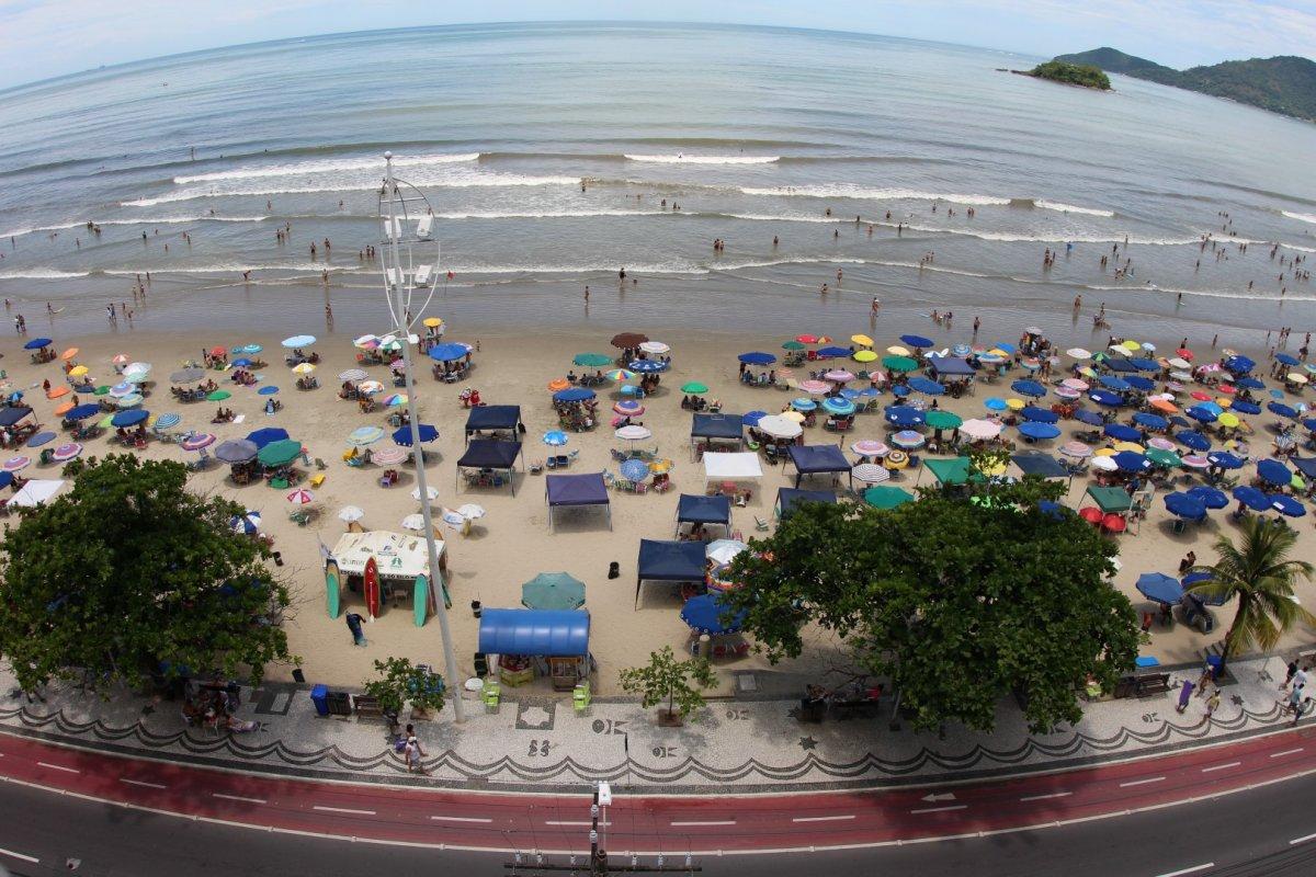 Apartamento em Frente ao mar