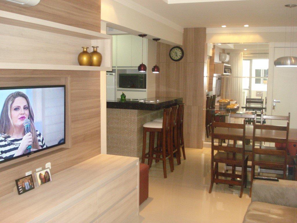 Apartamento em Quadra do Mar