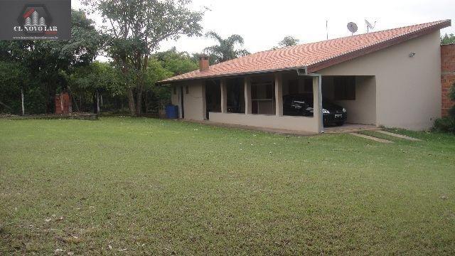 Chácara a Venda no bairro Bosque dos Ipês em Americana - SP. 2 banheiros, 2 dormitórios, 15 vagas na garagem, 1 cozinha,  área de serviço,  sala de es