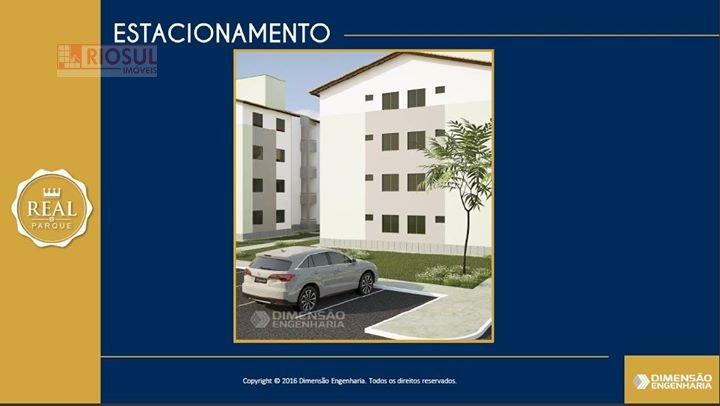 Apartamento a Venda no bairro João Paulo II em Imperatriz - MA. 1 banheiro, 2 dormitórios, 1 vaga na garagem, 1 cozinha.  - 0043