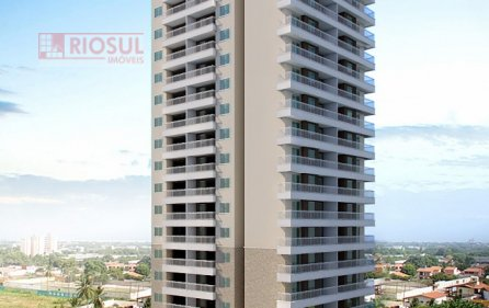 Apartamento para Alugar no bairro Três Poderes em Imperatriz - MA. 1 banheiro, 1 suíte, 1 vaga na garagem, 1 cozinha,  sala de jantar.  - 0045
