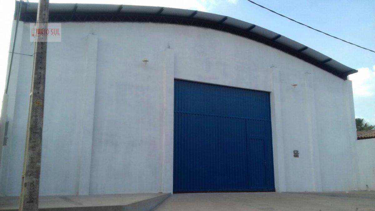 Galpão/Pavilhão para Alugar no bairro João Paulo II em Imperatriz - MA. 1 banheiro, 1 cozinha,  copa,  escritório.  - 0082