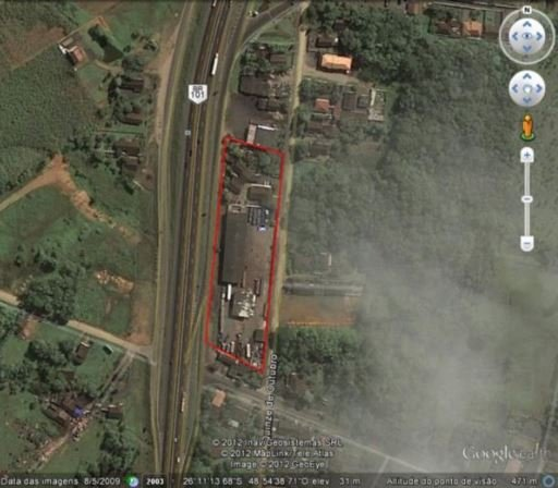 Pavilhão/Galpão/Depósito à venda  no Pirabeiraba (Rio Bonito) - Joinville, SC. Imóveis