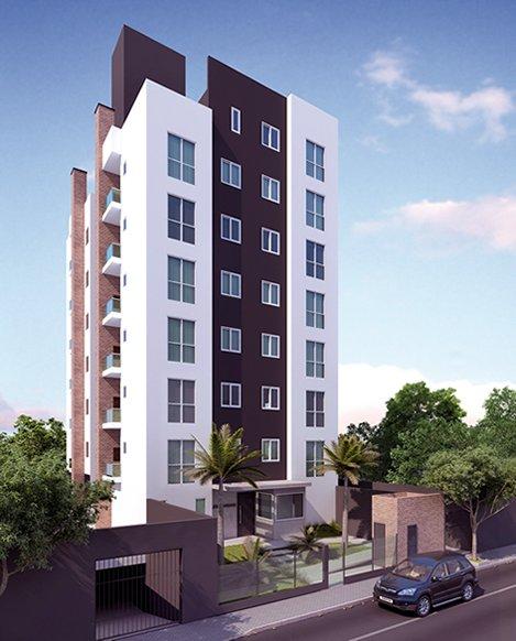 Apartamento a Venda no bairro Santo Antônio em Joinville - SC. 1 banheiro, 2 dormitórios, 1 vaga na garagem, 1 cozinha,  área de serviço,  sala de est