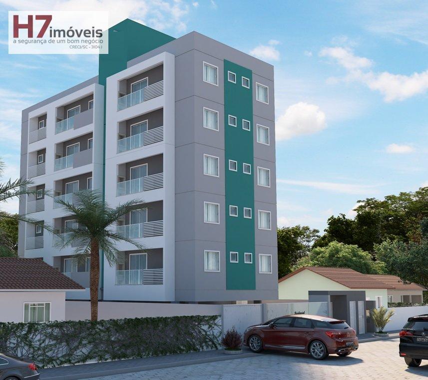 Apartamento a Venda no bairro Costa e Silva em Joinville - SC. 1 banheiro, 2 dormitórios, 1 vaga na garagem, 1 cozinha,  área de serviço,  sala de est