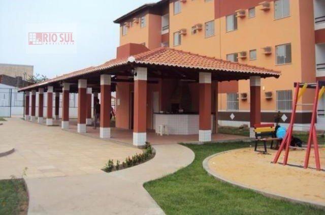 Apartamento para Alugar no bairro Parque do Buriti em Imperatriz - MA. 2 banheiros, 2 dormitórios, 1 suíte, 2 vagas na garagem, 1 cozinha,  área de se